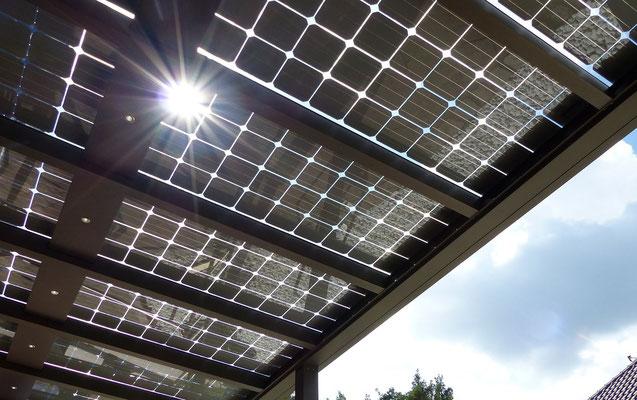 Terrasse mit Solar