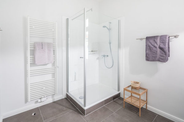 Ferienwohnung Norderney  Badezimmer Loft D im Strandloft 2 © norderney.top - Ferienwohnungen auf Norderney