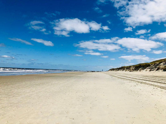 Endlos lange Strände zum Erholen von den Norderney Events 2020 im Strandloft Norderney © Ferienwohnungen Norderney Ferienhaus