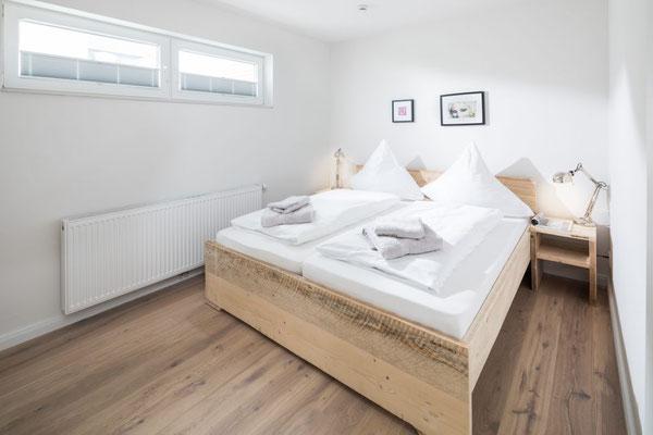 Ferienwohnung Norderney Schlafbereich Loft C im Strandloft 2 © norderney.top - Ferienwohnungen auf Norderney