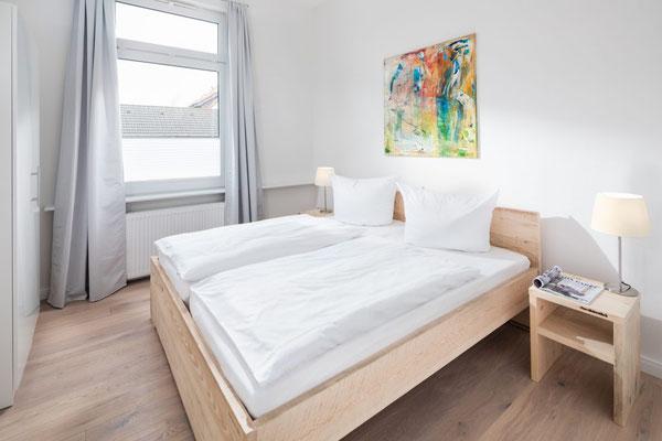 Ferienwohnung Norderney  Schlafzimmer 2 Loft D im Strandloft 2 © norderney.top - Ferienwohnungen auf Norderney