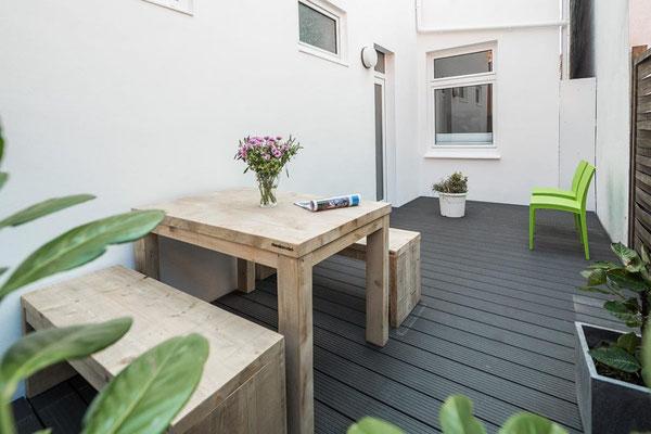 Ferienwohnung Norderney Balkon im Loft A im Strandloft 2 © norderney.top - Ferienwohnungen auf Norderney