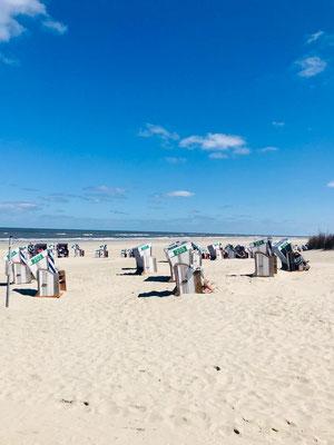 Highlights Norderney 2020 - Seele baumeln lassen im Strandloft Norderney © Ferienwohnungen Norderney Ferienhaus