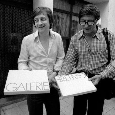 Le retour tant attendu du papier baryté !  Jacques Régent (Ilford) et Roger Doloy.