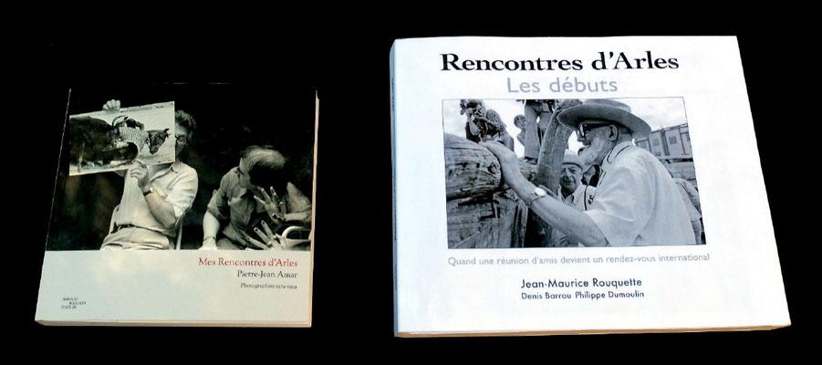 rencontres d'arles les débuts. livre sur l'histoire des rencontres d arles comparé au mini livre de pierre jean amar