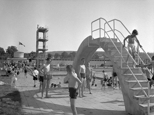 Badebetrieb im Sommer 1939