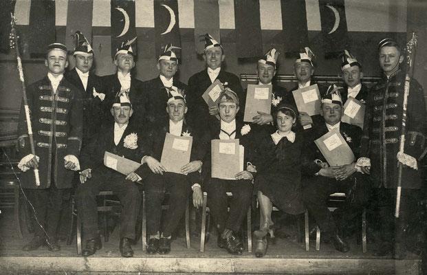 Elferrat der Sprudelgeister 1927 (Stadtarchiv Bad Vilbel)