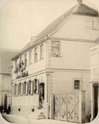 Haus Bermann Frankfurter Str. 36, ca. 1900 (Stadtarchiv Bad Vilbel)