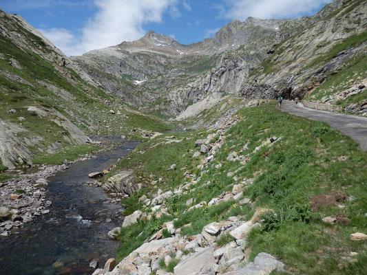 Verso il Lago Bianco