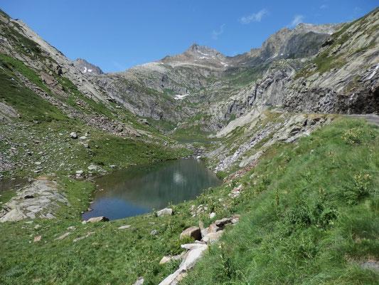 Lago Bianco e Cima di Lago