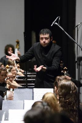 Joven Orquesta Nacional De España, dirigida por Jordi Francés
