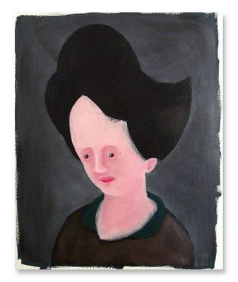 TANTE 2, Acryl auf Leinwand, 50 x 40 cm