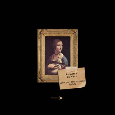 Dame mit dem Hermelin von Da Vinci