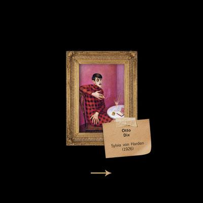 Sylvia von Harden von Otto Dix