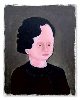 TANTE 1, Acryl auf Leinwand, 50 x 40 cm