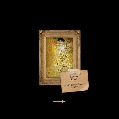 Adele Bloch-Bauer I von Gustav Klimt