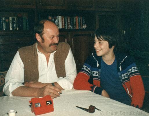 Kindheit von Frank Schulz im Saarland in den 70er und 80er Jahren. Gemeinsam mit meinem Vater. Ein seltenes Ereignis.