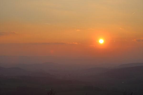 Sonnenuntergang Köterberg