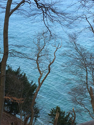 Königsstuhl Kalkfelsen von Rügen