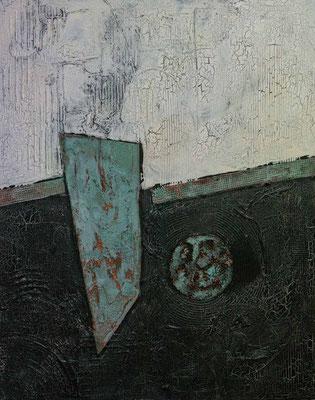 """Nr. 247   """"Zwischenräume""""   100x80cm"""