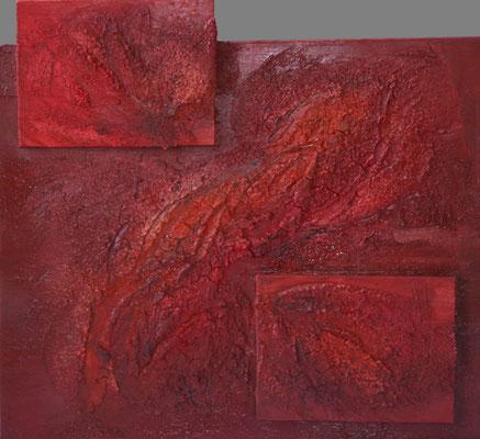 "Nr. 115 ""Seelenfeuer"", 50x60cm, 99,-€"
