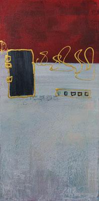 Nr. 324 Ohne Titel, 60x30cm, 40,-€