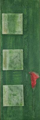 """Nr.163 """"Zen-Garden"""", 120x40cm, 90,-€"""