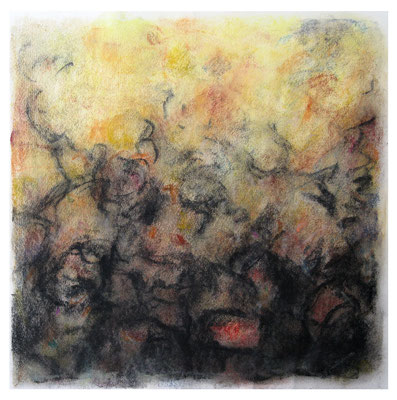 Pastello I, 1997, mm 320 x 320