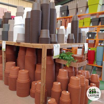 Macetas de plástico en Tenerife norte