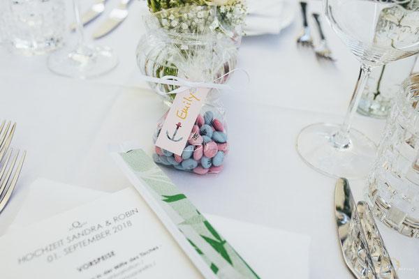 Tischdeko Hochzeitsfeier