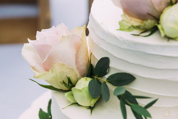 Detail Torte Hochzeit