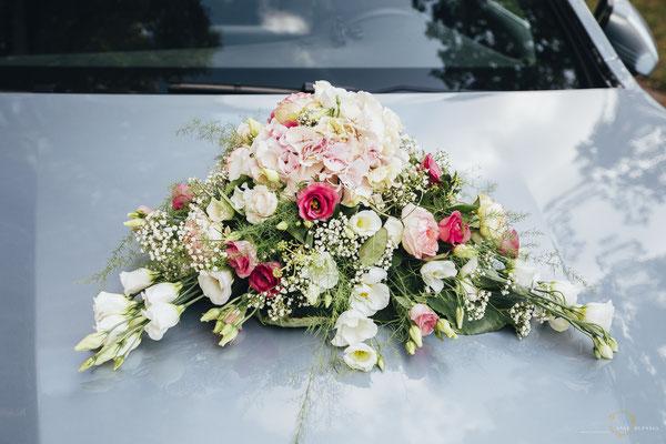 Blumenschmuck Auto Hochzeit Blankenese