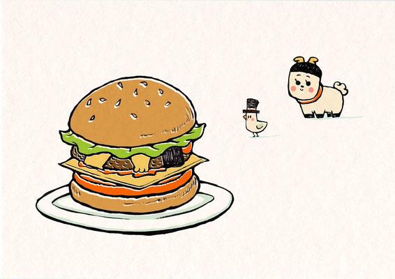 バーガーのきもち