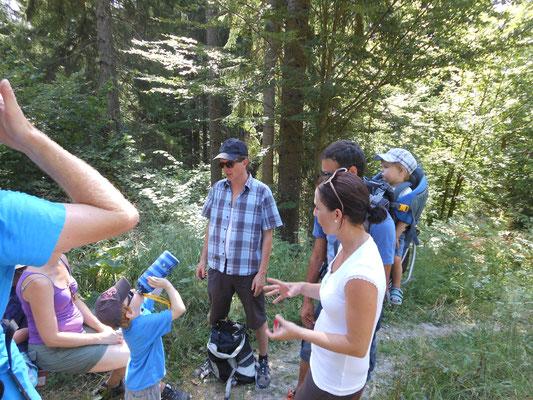Almwanderung an einem heissen August-Samstag