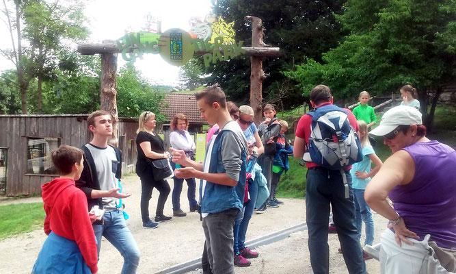 Tag 2, der Besuch im Tierpark Buchenberg in Waidhofen