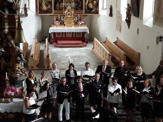 Unser Auftritt in der Pfarrkirche St. Michael