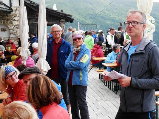 Obmann Wolfgang und unserer Betreuer Marta und Hannes