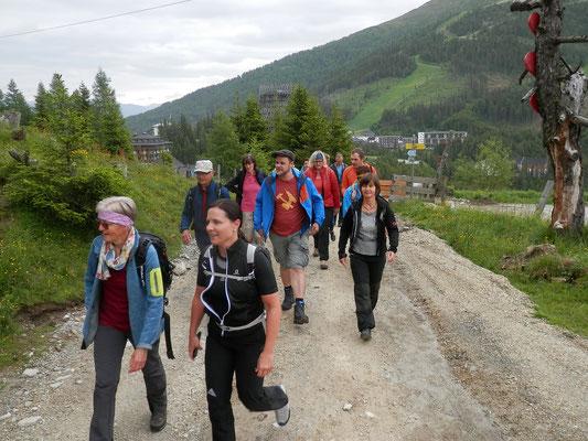 Wanderung zur Gamskogelhütte