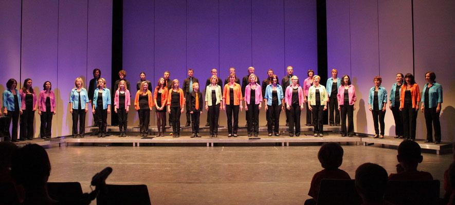 Auftritt Chor Ars Musica - Let us entertain you