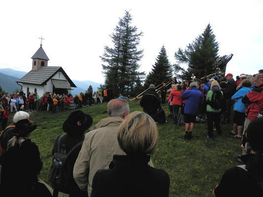 Bergandacht bei der Marienkapelle am Katschberg