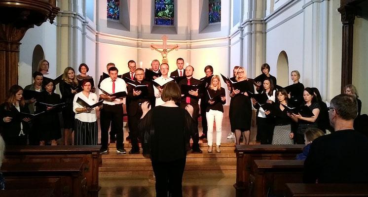 Lange Nacht der Kirchen 2019 mit den Chor Ars Musica aus Hallwang