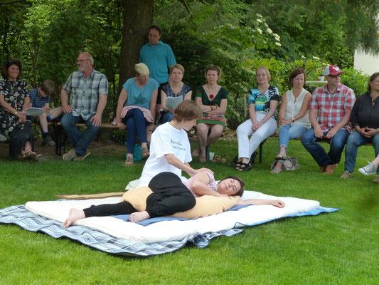 Shiatsu für Schwangere - Marieke Dries