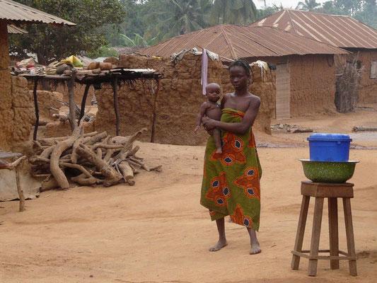 village de Zogbodomey