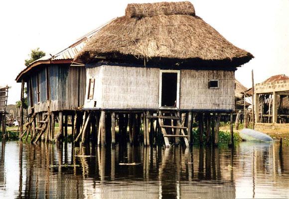 village lacustre de Ganvié - Bénin 2006
