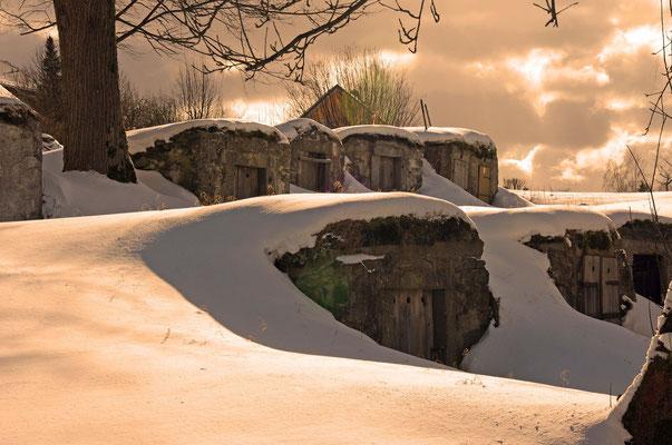 Die für Weißenstadt typischen Felsenkeller