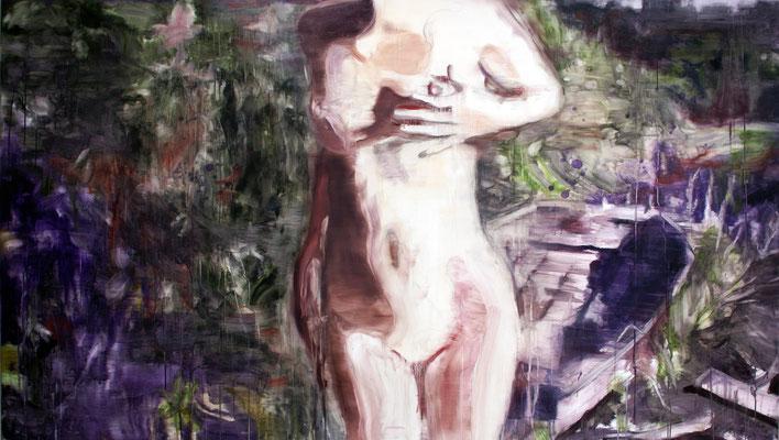 Boat 130x230 cm Oil/Graphite/Canvas 2013