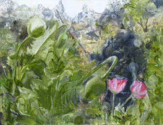 Poppies 2 170x130 cm Oil/Canvas 2007