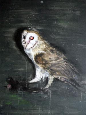 Silverowl 80x60 cm Oil/Canvas 2012