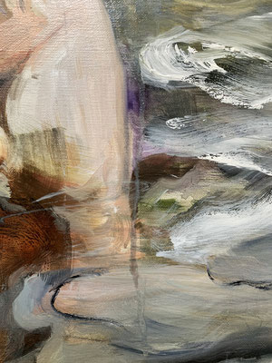 detail, two and water