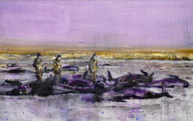 Fish 100x160 cm Oil/Canvas 2006